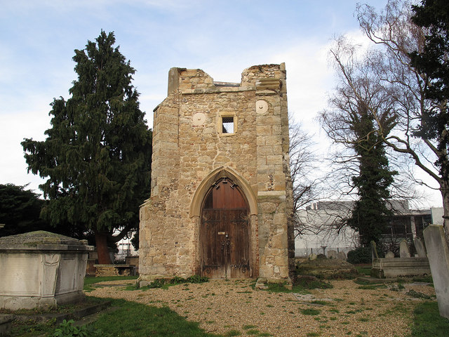 St Margaret's old tower, south side