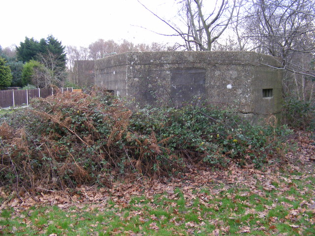 Pillbox on Eagle Way