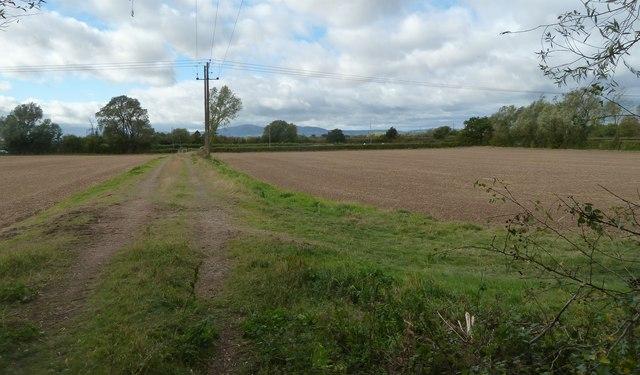 Land subject to development threat