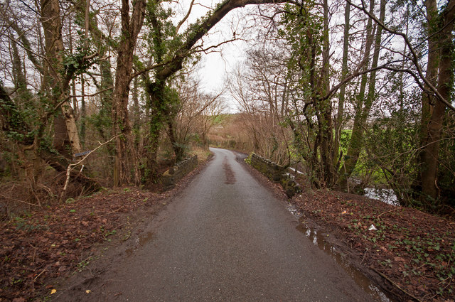 A bridge over Coney Gut near Maidenford