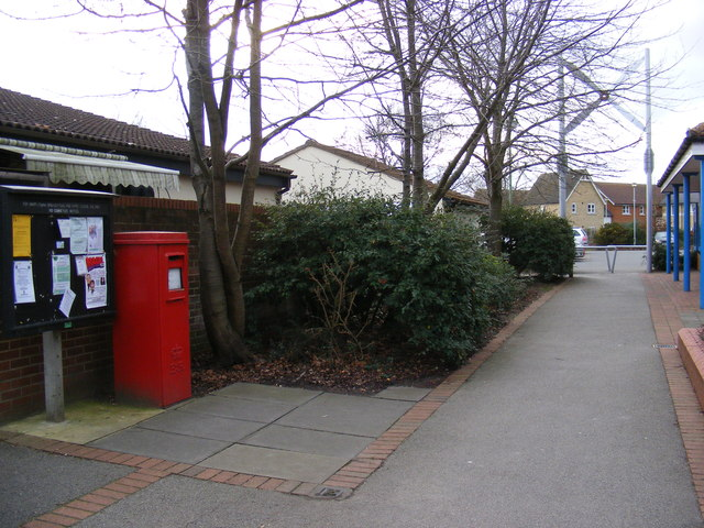 Martlesham Village Notice Board & Post Office 19/21 The Square Postbox