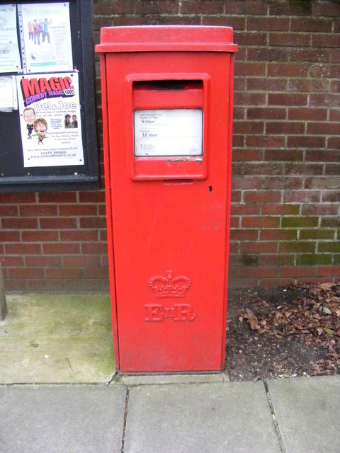 Post Office 19/21 The Square Postbox