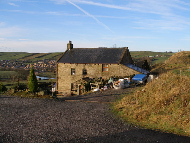 Yew Tree Farm on the Rossendale Way
