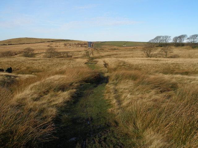 Pennine Bridleway below Bent Hill