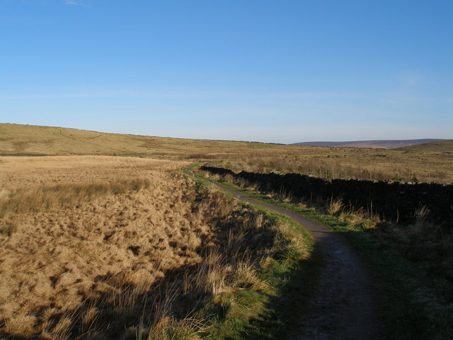 Pennine Bridleway at Red Moss