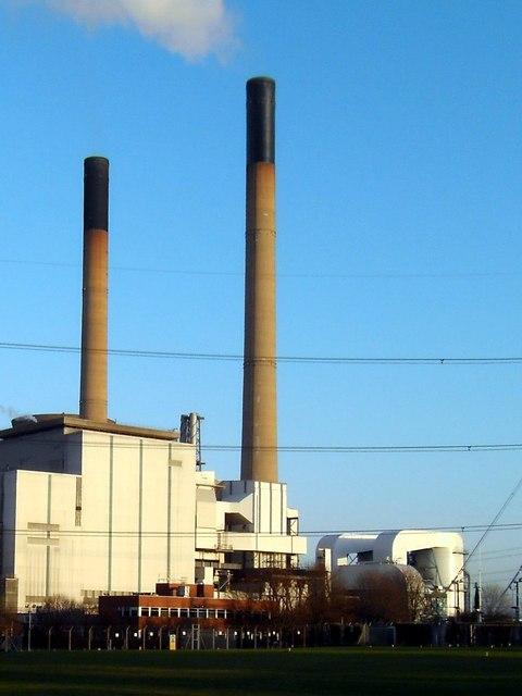 Ferrybridge Power Station de-sulphurisation plant