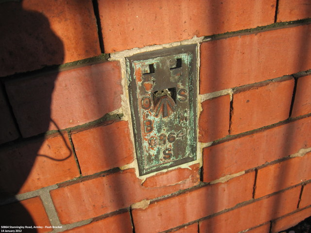 Ordnance Survey Flush Bracket S0864
