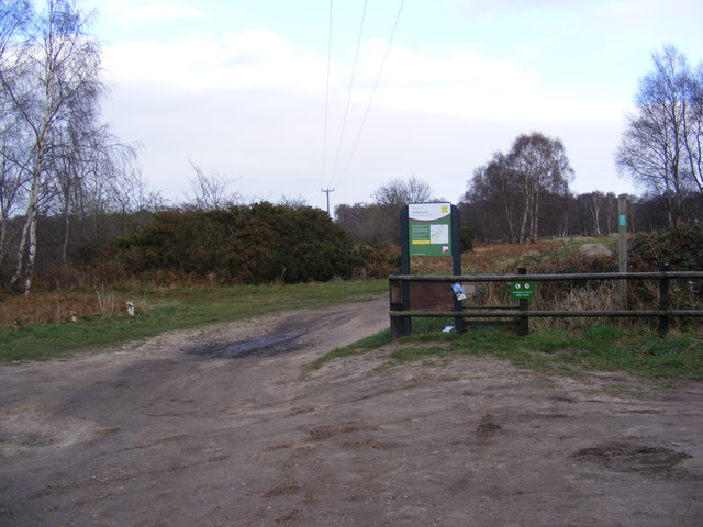 Entrance to Walberswick National Nature Reserve