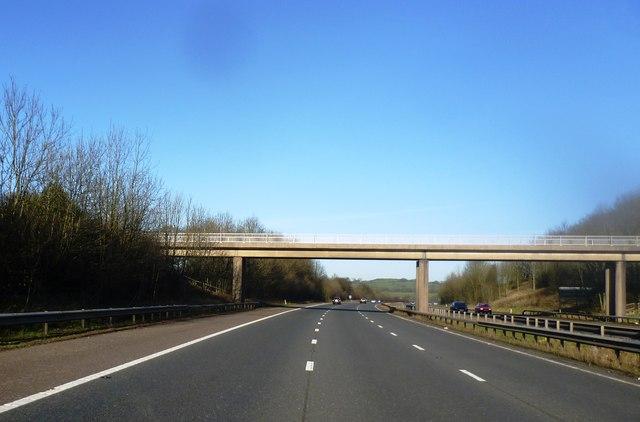 Bridge over the M61