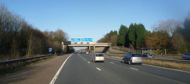 Gantry Sign above the M61