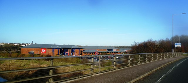 Retail Park - Preston