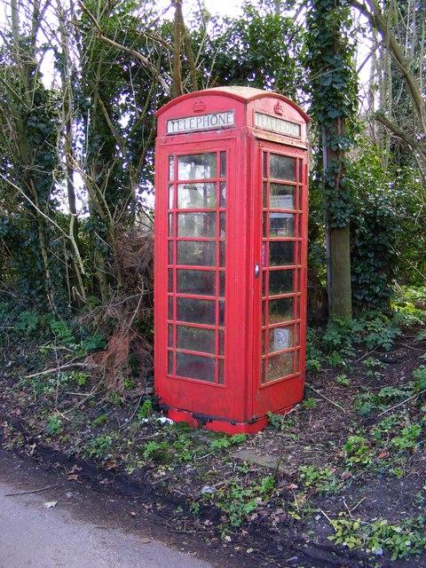 Telephone Box on Church Road