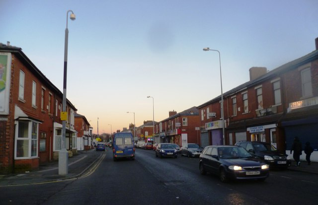 New Hall Lane - Preston