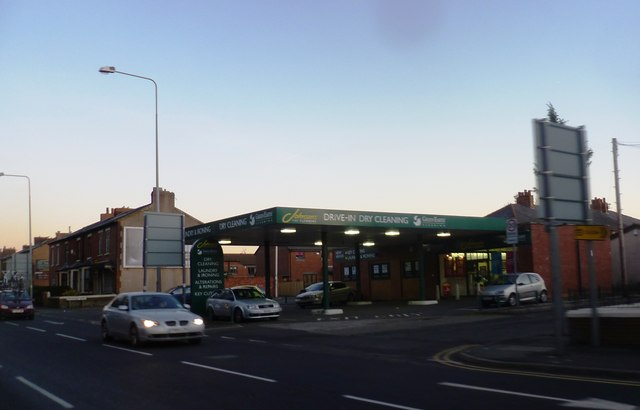Drive-in Dry-Cleaners - New Hall Lane