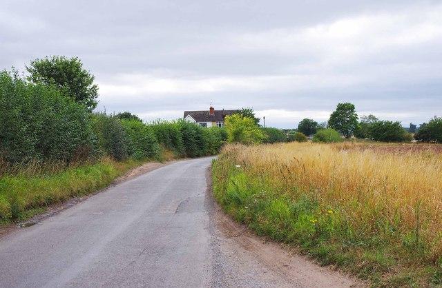 Bowling Green Lane near Whiston Cross