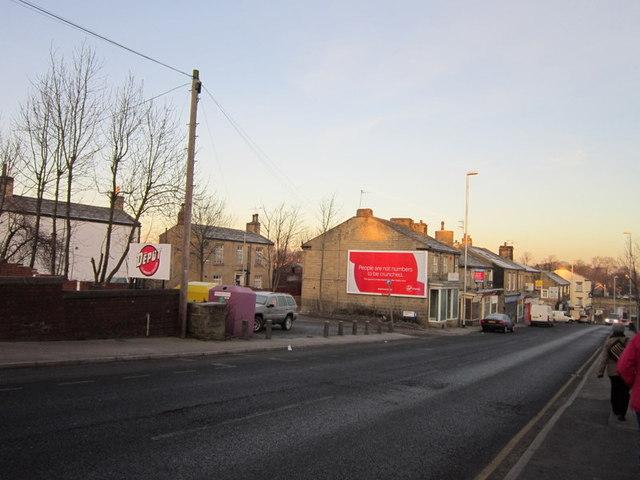 Richardshaw Lane towards Stanningley