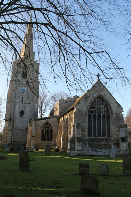 St Mary & The Holy Rood church, Donington