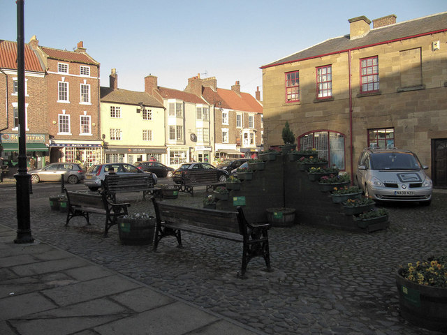 Stokesley on a bright January day