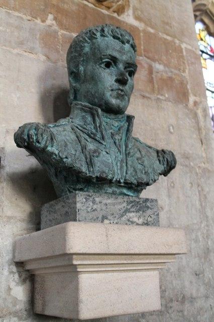 Bust of Capt. Matthew Flinders