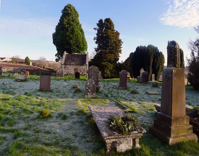 Frosty morning at Suddie Burial Ground