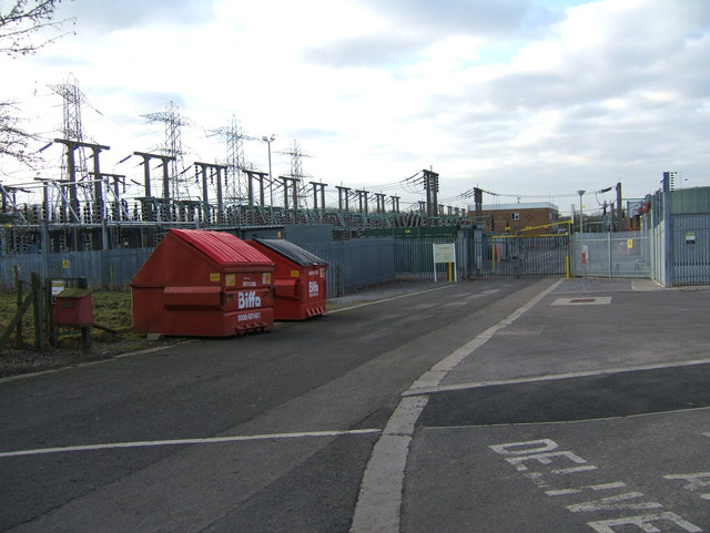 Gateway to Electricity sub station