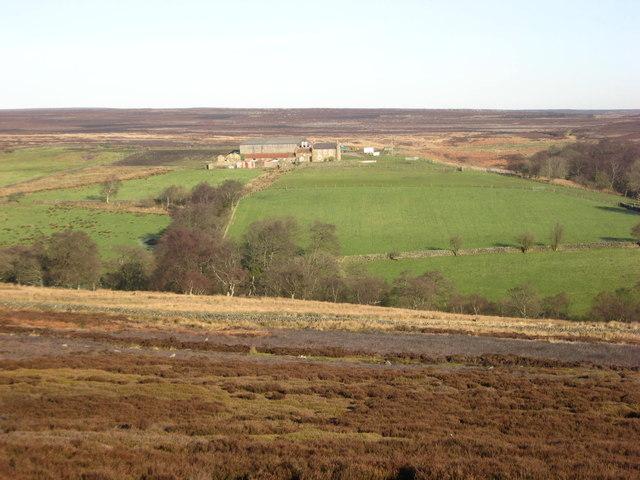 View towards Piethorn