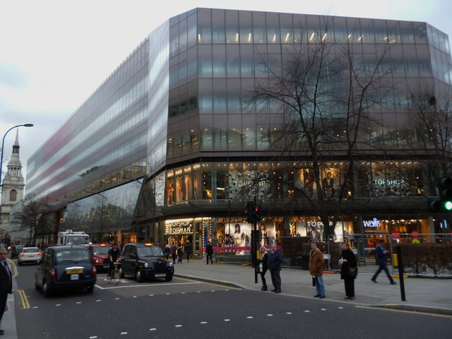 Top Shop, Cheapside EC1
