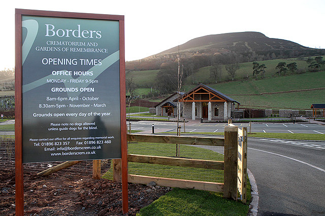 The Borders Crematorium at Melrose