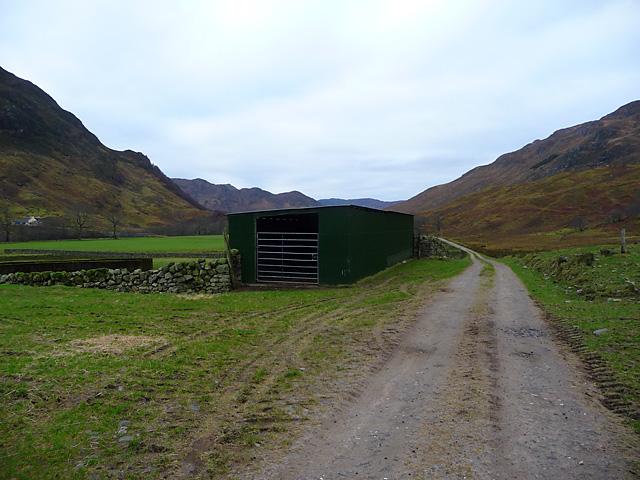 Agricultural building in Glen Elchaig