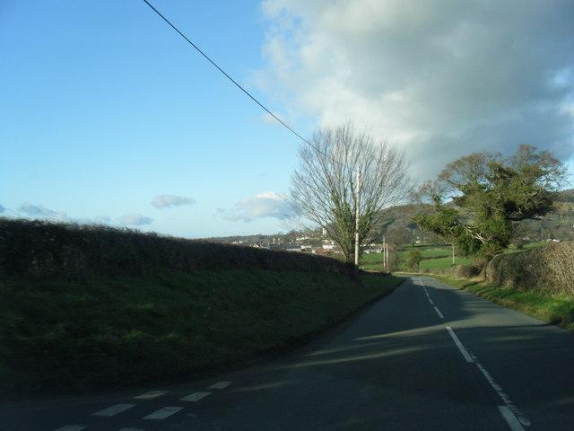 B5429 south of Aberwheeler