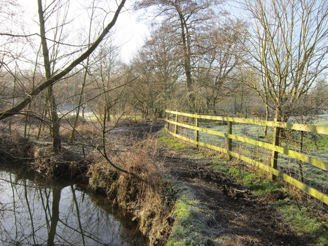 Pudsey beck and the Leeds Country Way
