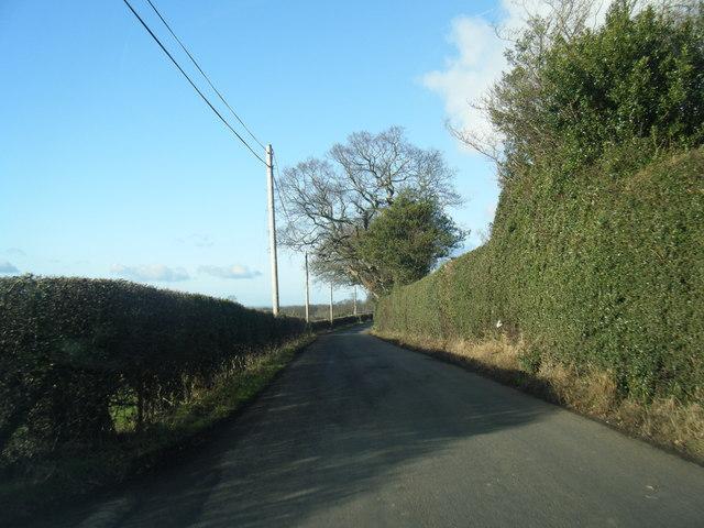 B5429 near Nantgwilym
