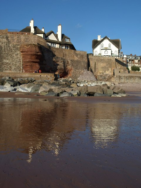 Cliff and cottages ornées, Sidmouth