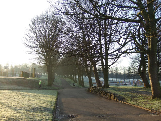 Path in Hyde Park