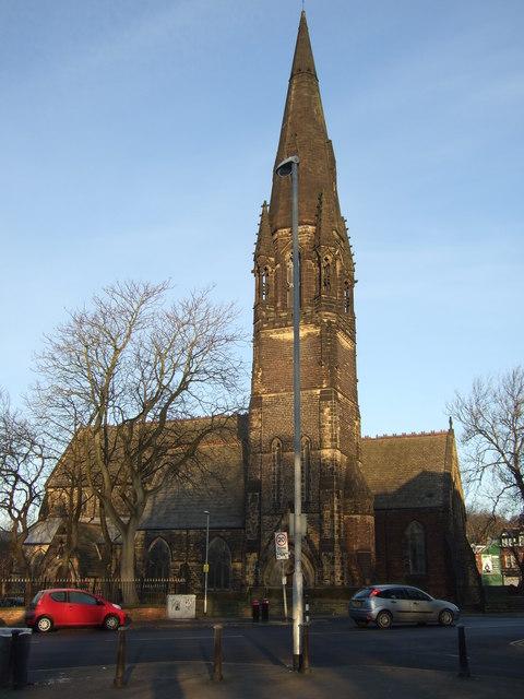 Church near Hyde Park, Leeds