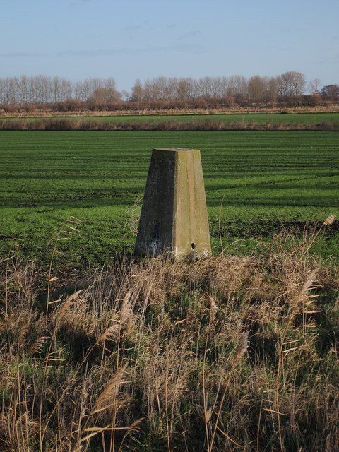 Sea level trig point