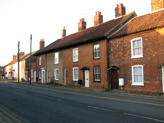 Terraced cottages, Swaffham