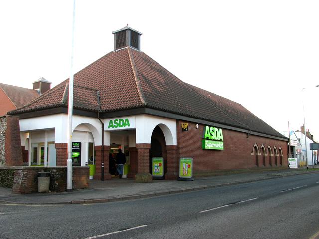 ASDA Supermarket, Swaffham