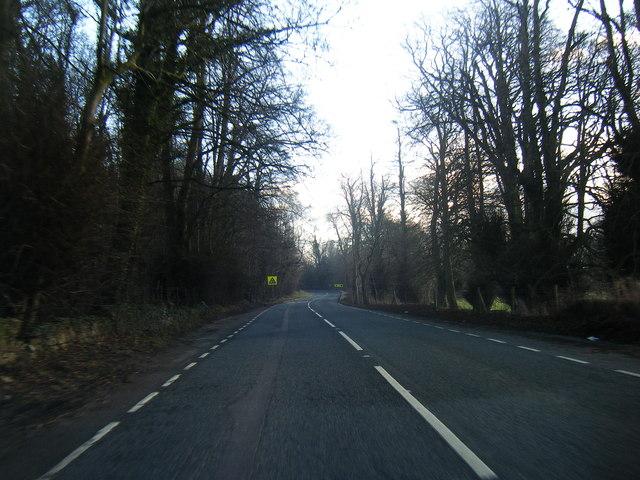 A541 near Tardd-Y-Wyr