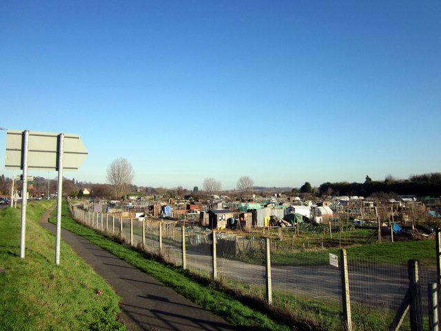 Perdiswell Allotments, A38