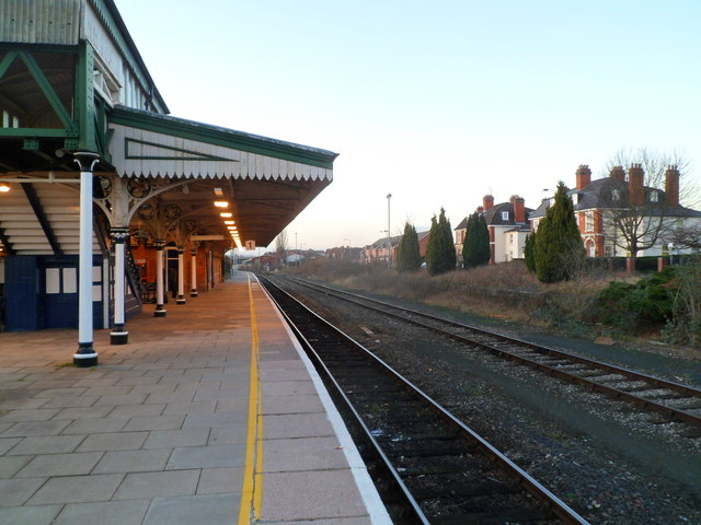 Platform 1, Hereford railway station