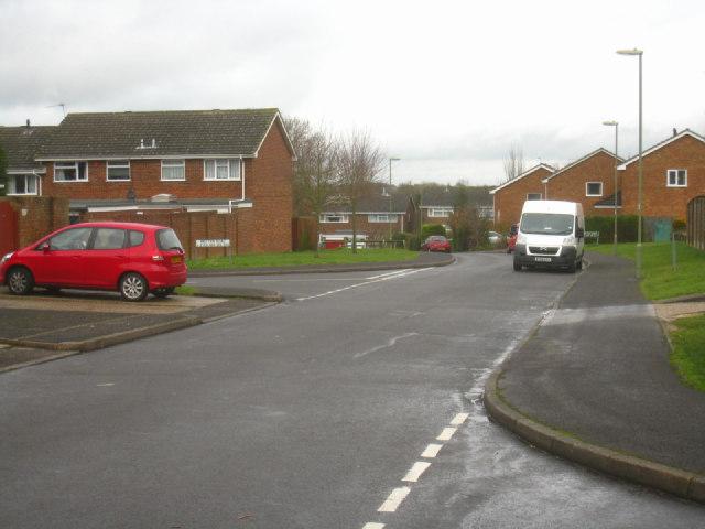 Grey day on Britten Road
