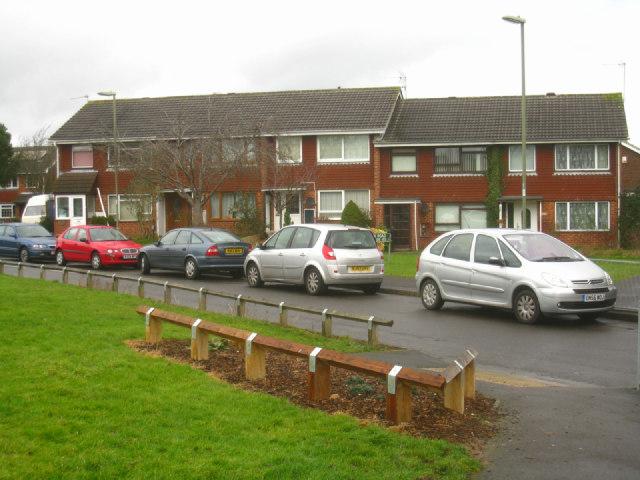 Limited garages - Britten Road