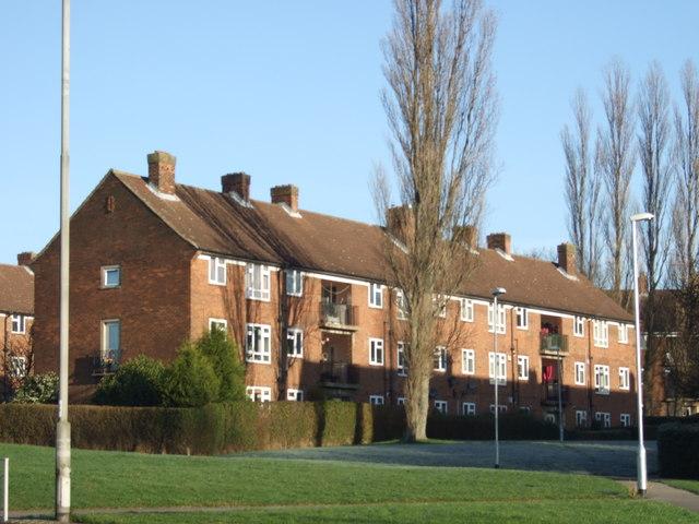 Flats on Lingfield Bank