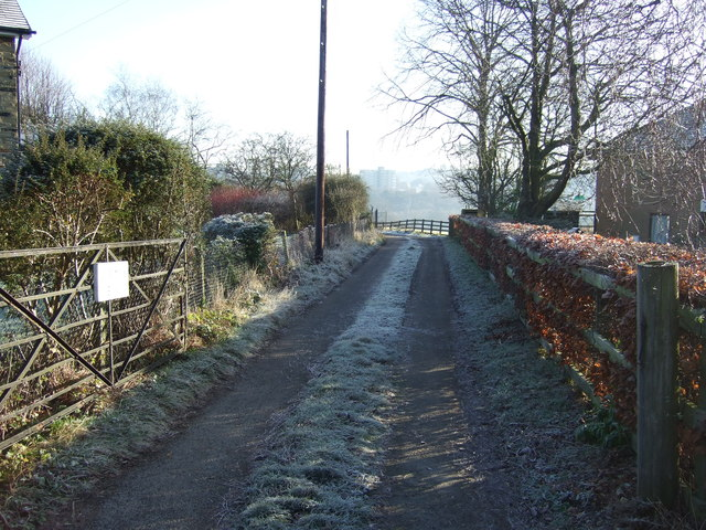 Track to Dunstarn Farm