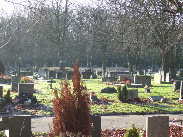 Lawns Wood Cemetery