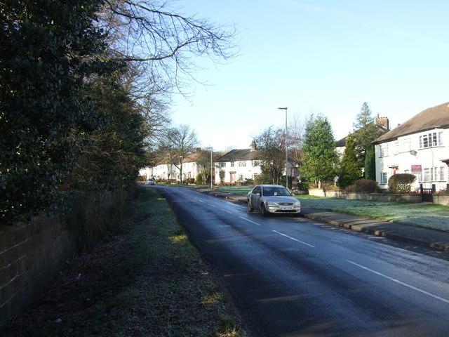 New Adel Lane heading west