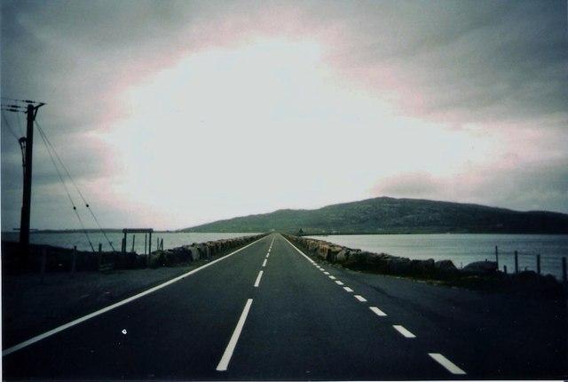 Eriskay Causeway towards South Uist
