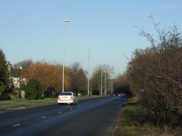 Otley Road (A660) heading north