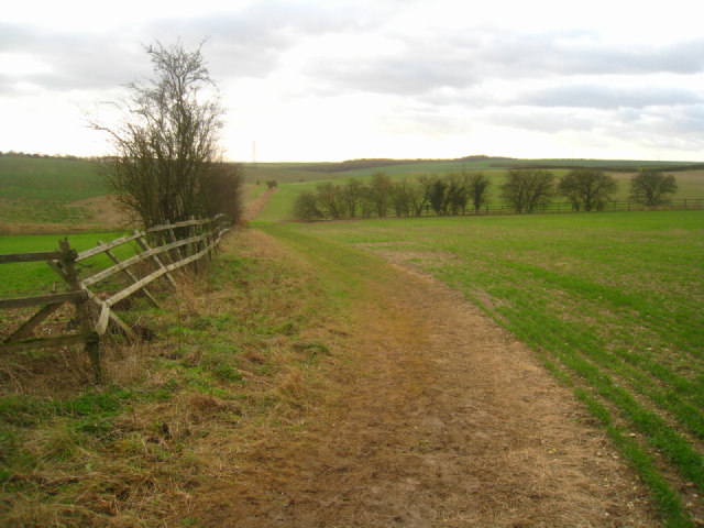 Path on Stubbington Down